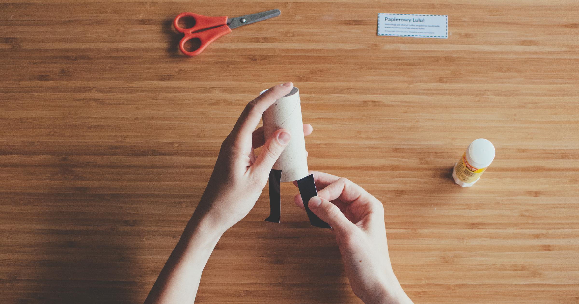 Jak zrobić Papierowego Lulu! - krok 3