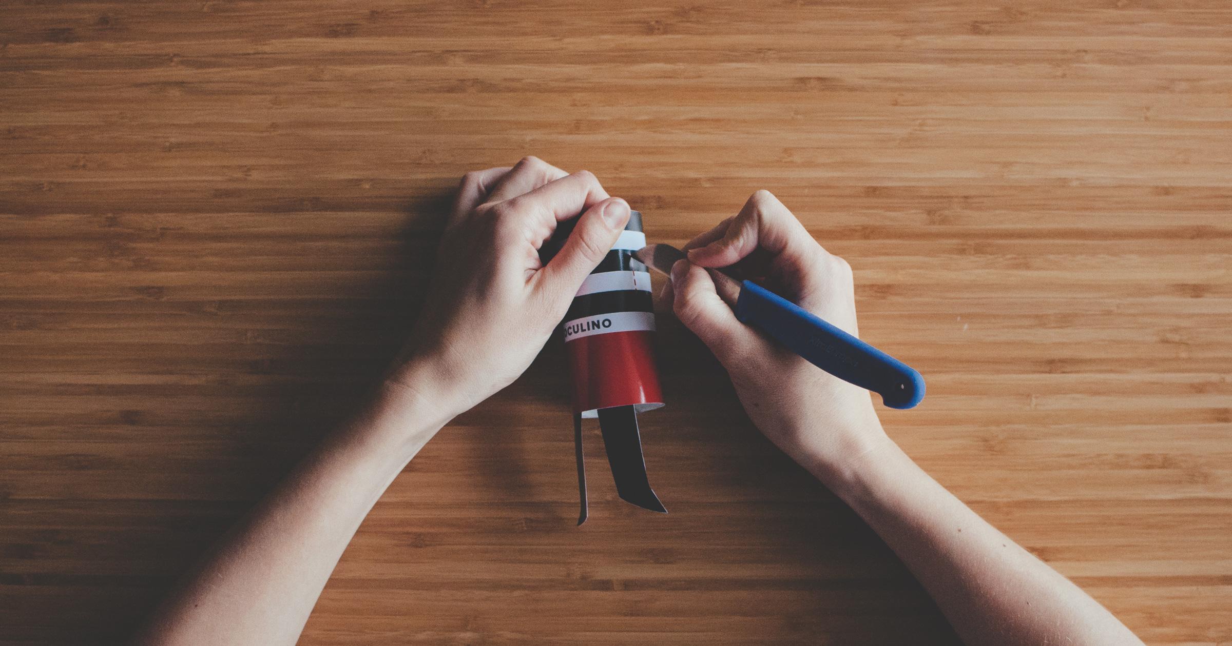 Jak zrobić Papierowego Lulu! - krok 5