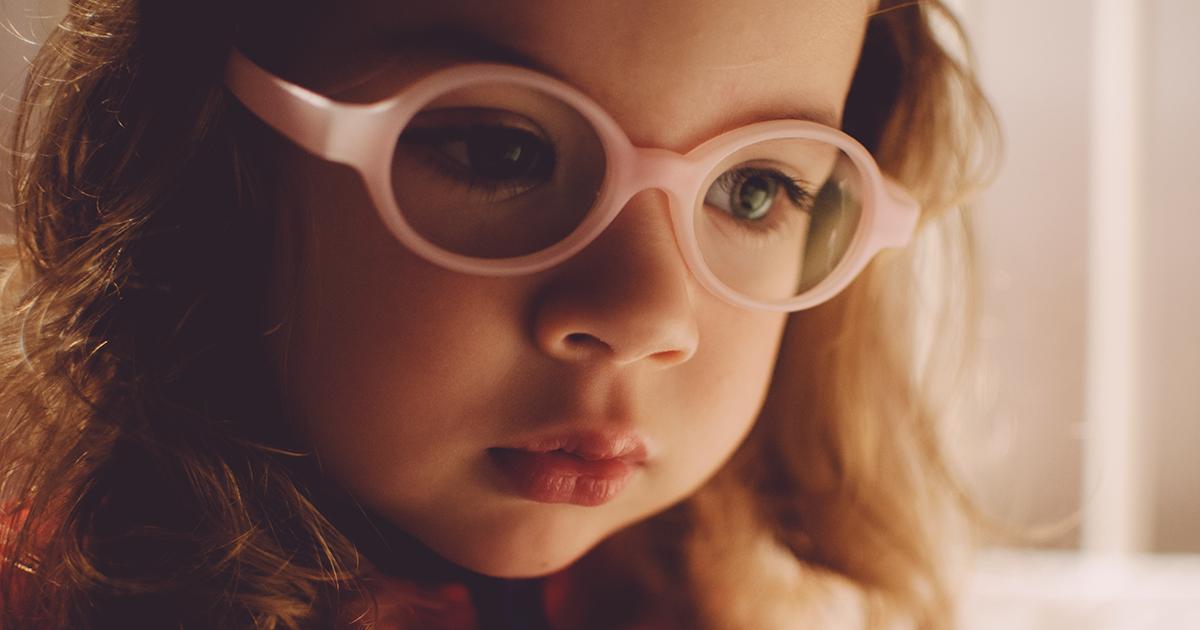 Dziecko nie chce nosić okularów