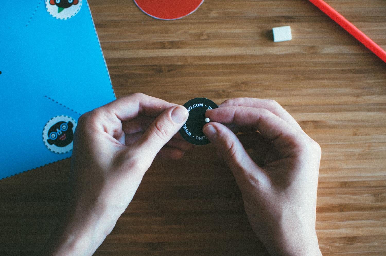 Jak zrobić Wiatraczek Oculino - krok 5