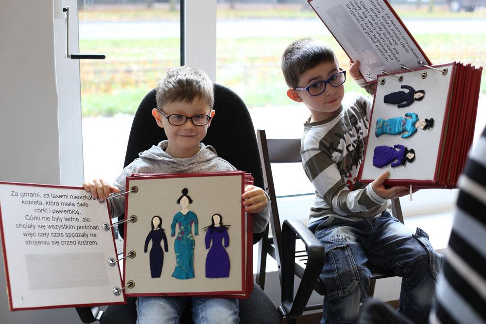książki dla dzieci niewidomych i słabowidzących